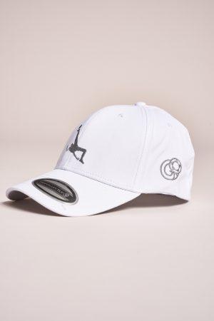 """כובע """"Shark Attack"""" בלבן-כסוף"""