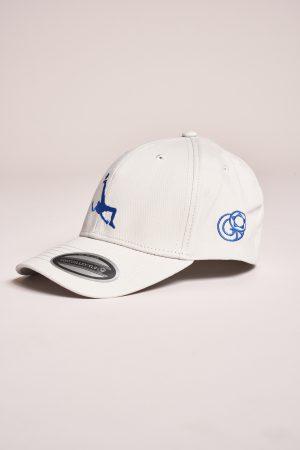 """כובע """"Shark Attack"""" באפור-כחול"""