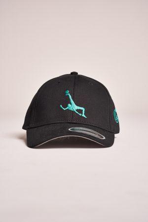 """כובע """"Shark Attack"""" בשחור-ירוק"""