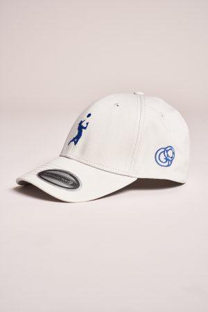 """כובע """"HEADER"""" באפור-כחול"""