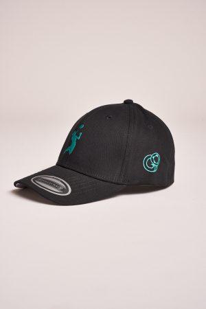 """כובע """"HEADER"""" בשחור-ירוק"""