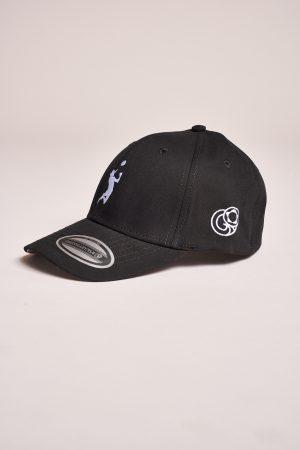 """כובע """"HEADER"""" בשחור-לבן"""