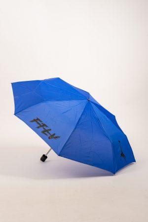 מטריית FTLV מתקפלת בכחול