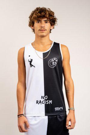 """גופיית משחק No Racism"""" FTLV"""""""