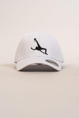 """כובע """"Shark Attack"""" בלבן-שחור"""