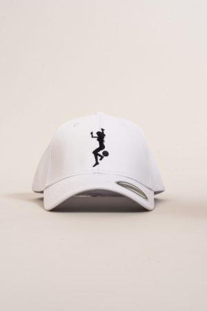 """כובע """"GIRL POWER"""" בלבן-שחור"""