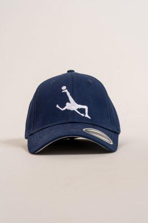 """כובע """"Shark Attack"""" בכחול-לבן OVERSIZED"""