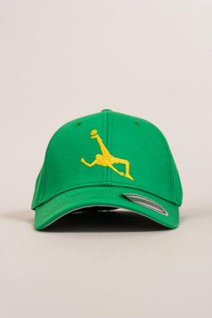 """כובע """"Shark Attack"""" בירוק-צהוב OVERSIZED"""