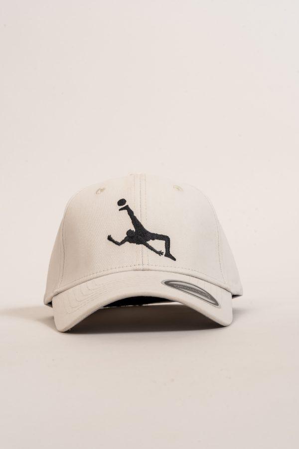 """כובע """"Shark Attack"""" באפור-שחור"""