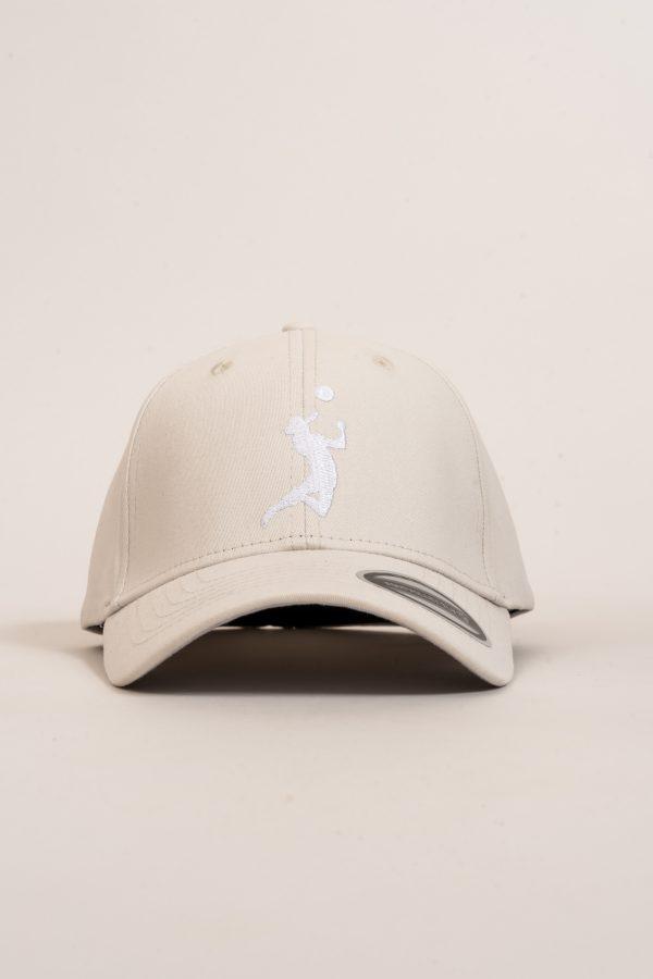 """כובע """"HEADER"""" באפור-לבן"""