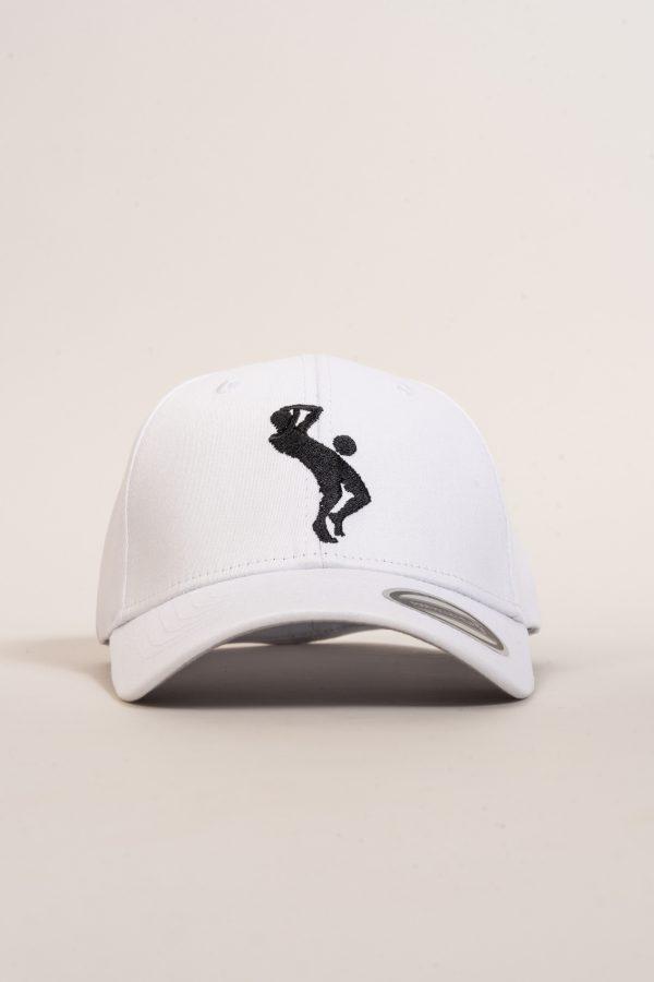 """כובע """"SARRDA"""" בלבן-שחור"""