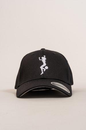 """כובע """"GIRL POWER"""" בשחור-לבן"""