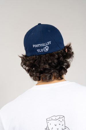 """כובע """"SARRDA"""" בכחול-לבן"""