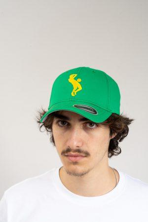 """כובע """"SARRDA"""" בירוק-צהוב"""