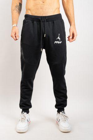 מכנס טרנינג FTLV בשחור
