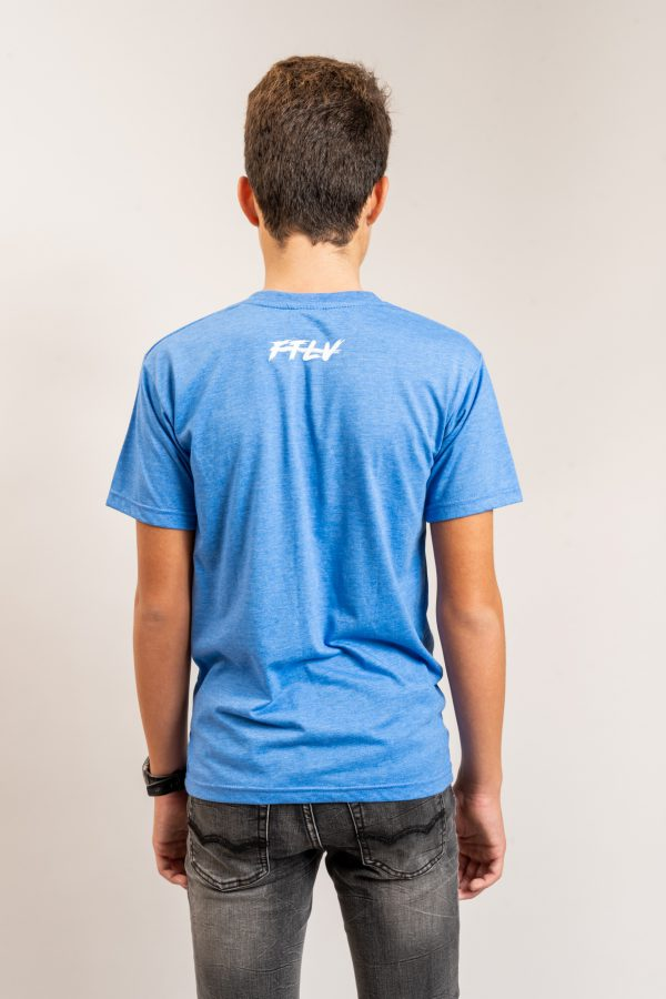 """טי-שירט """"Header"""" בכחול בהיר / מידה 14"""