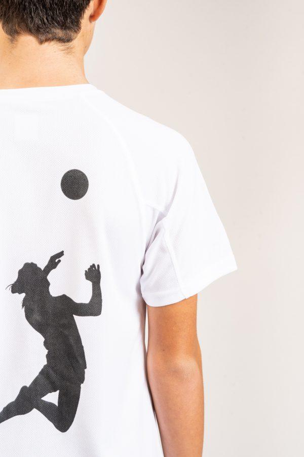 """חולצת אימון """"Header"""" בלבן / מידה 14"""