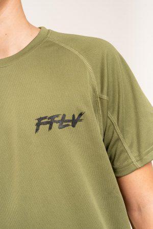 """חולצת אימון """"Peito"""" בירוק / מידה 12"""