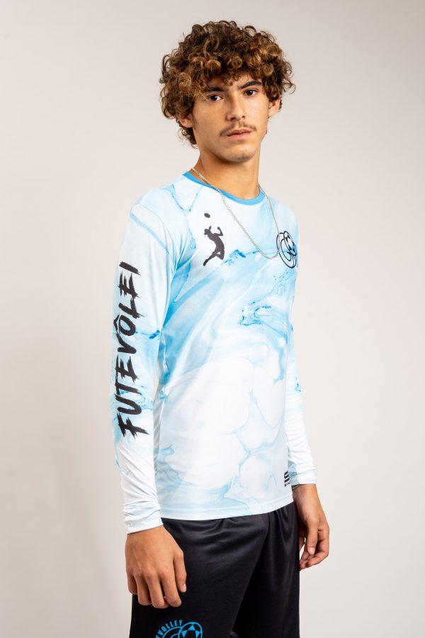"""חולצת משחק שרוול ארוך Blue Header"""" FTLV"""""""